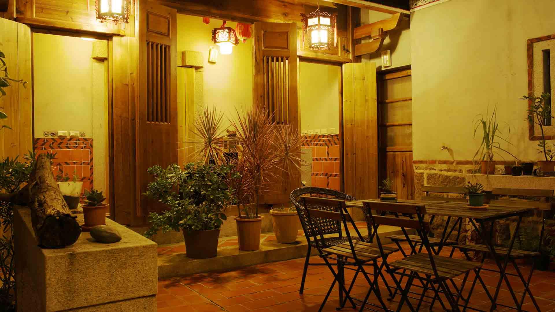 金門國家公園。傳統建築活化利用民宿